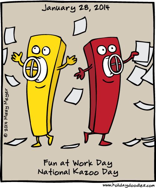 Fun National Holidays 2016 | Calendar Template 2016