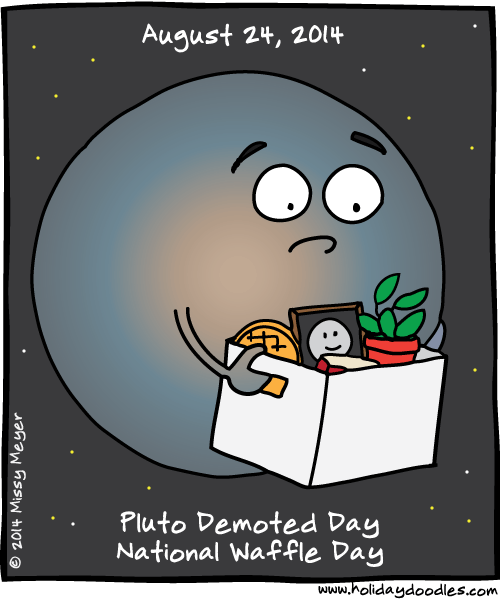 sad sad planet pluto birthday - photo #3